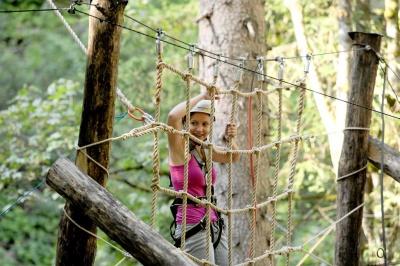 Mega Swing im Abenteuerpark